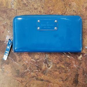 Kate Spade Blue Wallet.